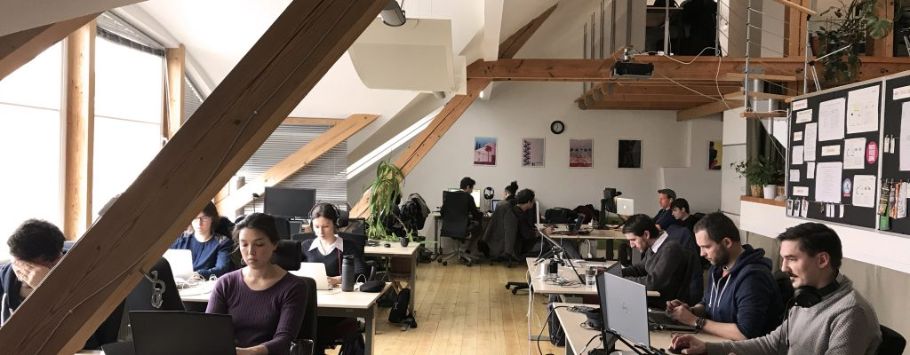 Work better at Locus - Coworking space in Prague