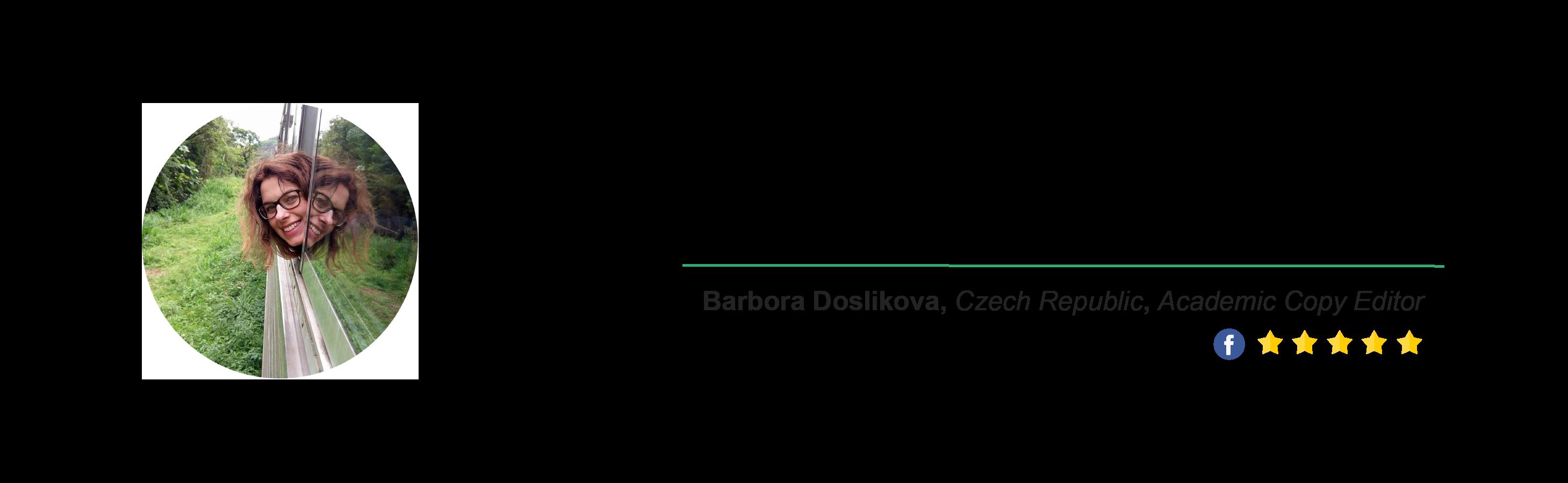 Locus Testimonial - Barbora Doslikova