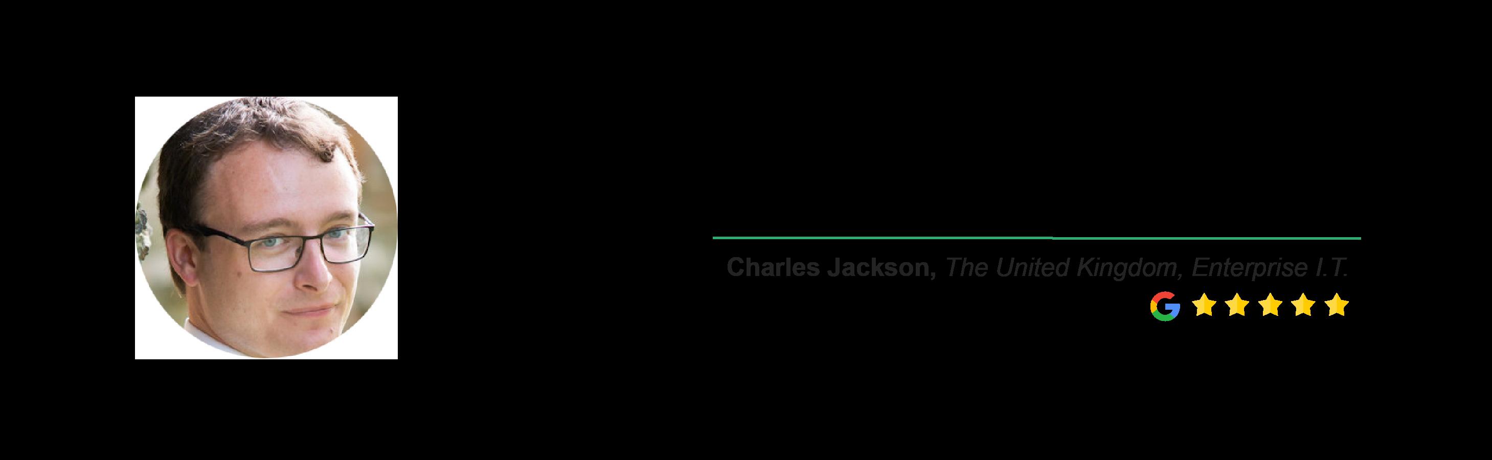 Locus Testimonial - Charles Jackson
