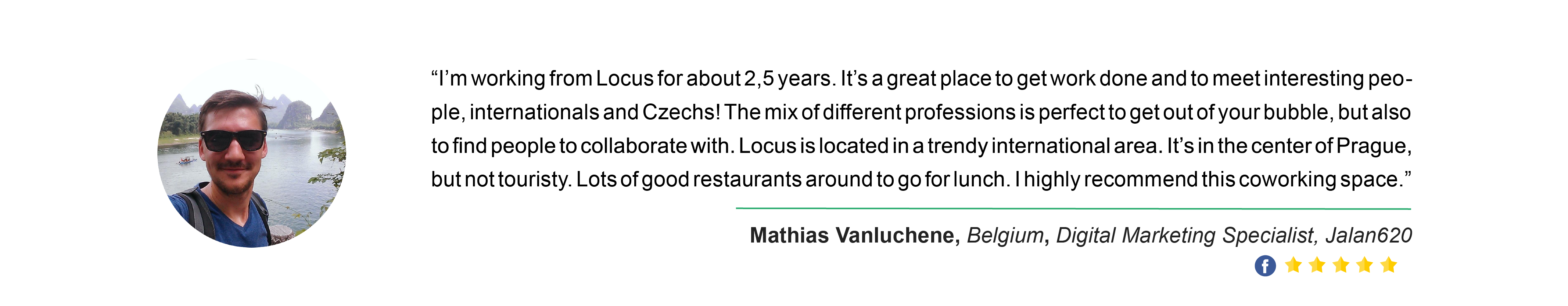 Locus Testimonial - Mathias Vanluchene